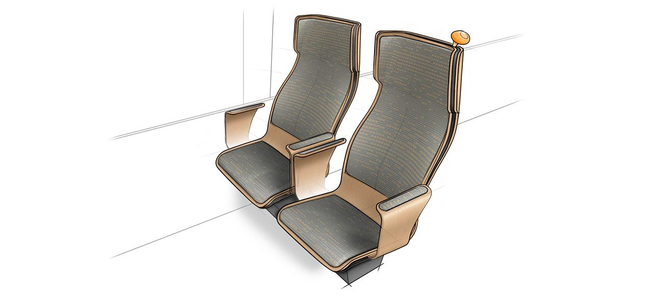 Trein-interieur_1e-klasse-schets