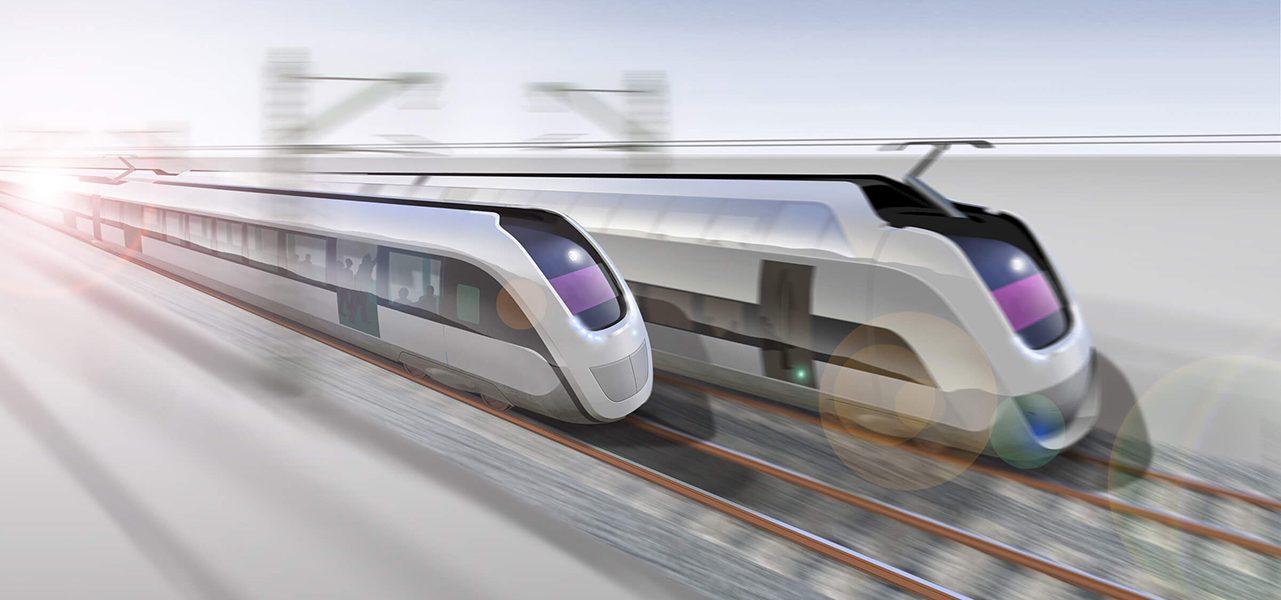 Duurzame trein